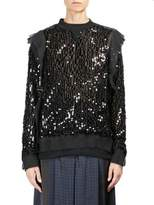 Sacai Sequin Embellished Top