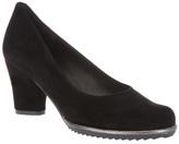 Audley Short heel pump
