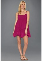 Billabong Sweet All Over Dress (Fiesta Fuchsia) - Apparel