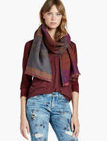 Lucky Brand Ikat Scarf
