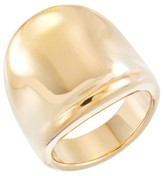 Target Distributed 14kt Gold Polished Ring with Nano Diamond Resin-Yellow Gold
