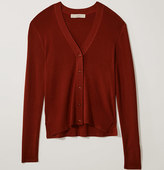 LOFT Ribbed Cardigan