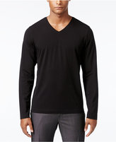 INC International Concepts Men's Dressy V-Neck T-Shirt, Only at Macy's