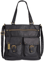 Style&Co. Style & Co. Washed Crossbody Tote, Only at Macy's