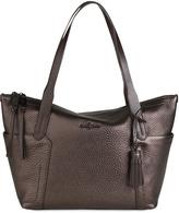 Cole Haan Parker Zip-Top Shopper Tote Bag, Brown