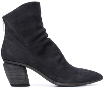 Officine Creative Severine 2 point-toe ankle boots