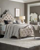 Hooker Furniture Juliet Tufted King Panel Bed