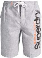 Superdry BOARD Swimming shorts silver grey grit