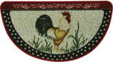 "Bacova Cocka Doodle Doo 18"" x 31.5"" Berber Slice Kitchen Rug"