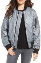 Hudson Women's Gene Metallic Bomber Jacket