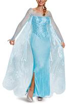 Disguise Frozen Elsa Prestige Costume Dress - Adult