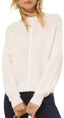 MICHAEL Michael Kors Ottoman Knit Dolman-Sleeve Sweater