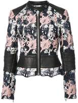 Yigal Azrouel embroidered moto jacket
