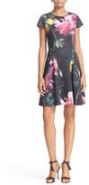 Ted Baker 'Allisia' Print Skater Dress