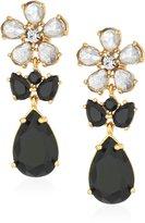 Kate Spade Cluster Grey Drop Earrings