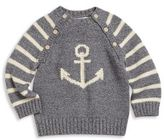 Ralph Lauren Baby's Anchor Intarsia-Knit Cotton Sweater
