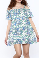 Hommage Floral Shift Dress