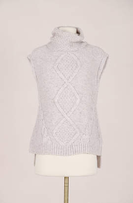 Rebecca Taylor Recollect Optic Texture Turtle Neck Pullover