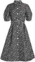 Teri Jon By Rickie Freeman Printed Shirt Dress