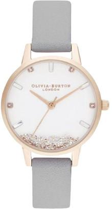 Olivia Burton OB16SG08 The Wishing Watch Rose Gold & Grey