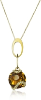 Tagliamonte Incanto Royale Citrine and Diamond 18K Gold Charm Necklace