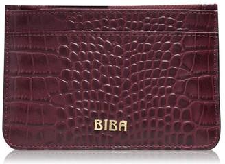 Biba Leather Zip Top Coin Purse
