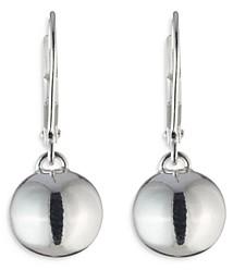 Ralph Lauren Ralph Bead Drop Earrings in Sterling Silver