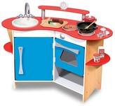 Melissa & Doug Cook's Corner Wooden Kitchen - Ages 3+