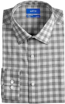 Apt. 9 Men's Regular-Fit Stretch Spread-Collar Dress Shirt