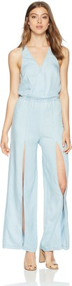 GUESS Women's Bleached Sexy Jumpsuit