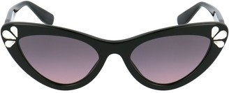 Miu Miu Embellished Cat Eye Frame Sunglasses