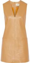By Malene Birger Gade Leather Mini Dress