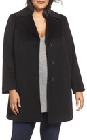 Fleurette Plus Size Women's Wool Walking Coat