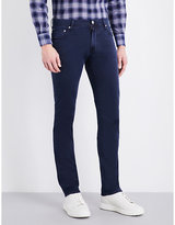 Corneliani Regular-fit Tapered Stretch-cotton Trousers