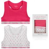 Calvin Klein Calvin KleinWhite & Pink Bralette Set (2 Pack)