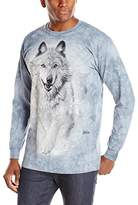 The Mountain Snow Plow USA Long Sleeve T-Shirt