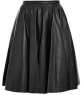 McQ Alexander McQueen Leather midi skirt