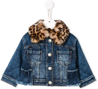 MonnaLisa Denim Panelled Jacket
