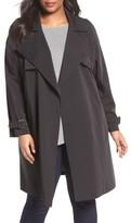 MICHAEL Michael Kors Plus Size Women's Trench Coat