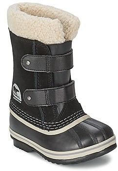 Sorel CHILDRENS 1964 PAC STRAP girls's Snow boots in Black