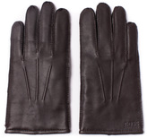 Boss Haindt 2 Brown Leather Gloves