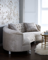 "Haute House Monroe Tufted Sofa 114"""