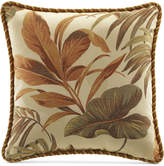 "Croscill Bali 18"" x 18"" Square Decorative Pillow"