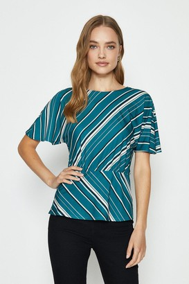 Coast Short Sleeve Cut About Jersey Top