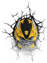 3D Light FX Transformers 3D Wall Nightlight - Bumblebee