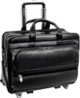 McKlein McKleinUSA Franklin 15.6 Leather Detachable Wheeled Laptop Briefcase