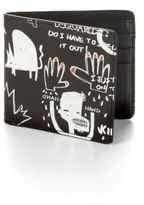 DSQUARED2 Printed Leather Wallet