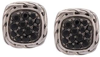 John Hardy Classic Chain square earrings