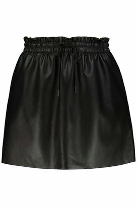 Studio Untold Women's Fake-Lederrock Skirt