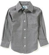Class Club Little Boys 2T-7 Houndstooth Shirt